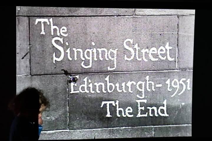 singing street